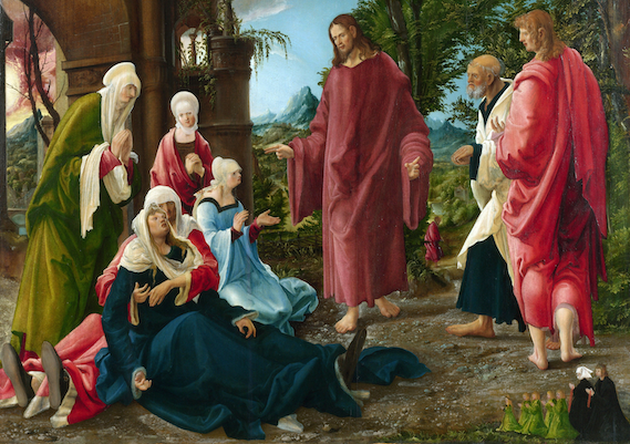 Albrecht_Altdorfer,_Christ_Taking_Leave_of_His_Mother_(probably_1520)(2번).png
